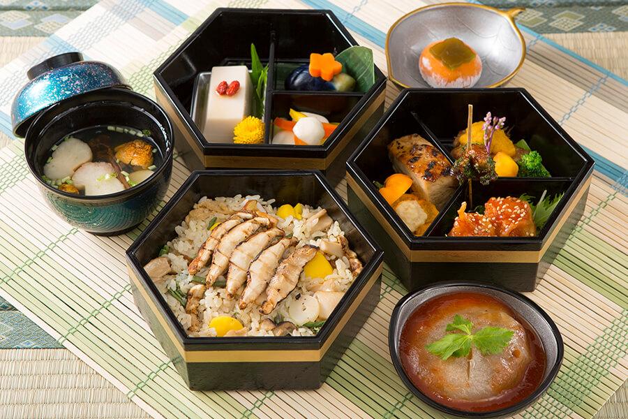 画像:オリエンタル精進料理サンプル